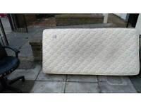 FREE Single bed mattress.