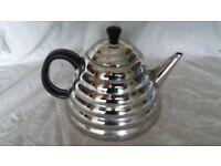 art deco beehive teapot