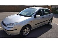 2003 Ford Focus GHIA 1.6 Petrol, Manual, some Service History