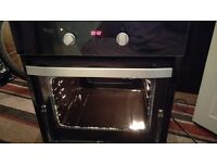 NEW SWAN SXB2010B BUILT-IN SINGLE ELECTRIC OVEN WITH TIMER