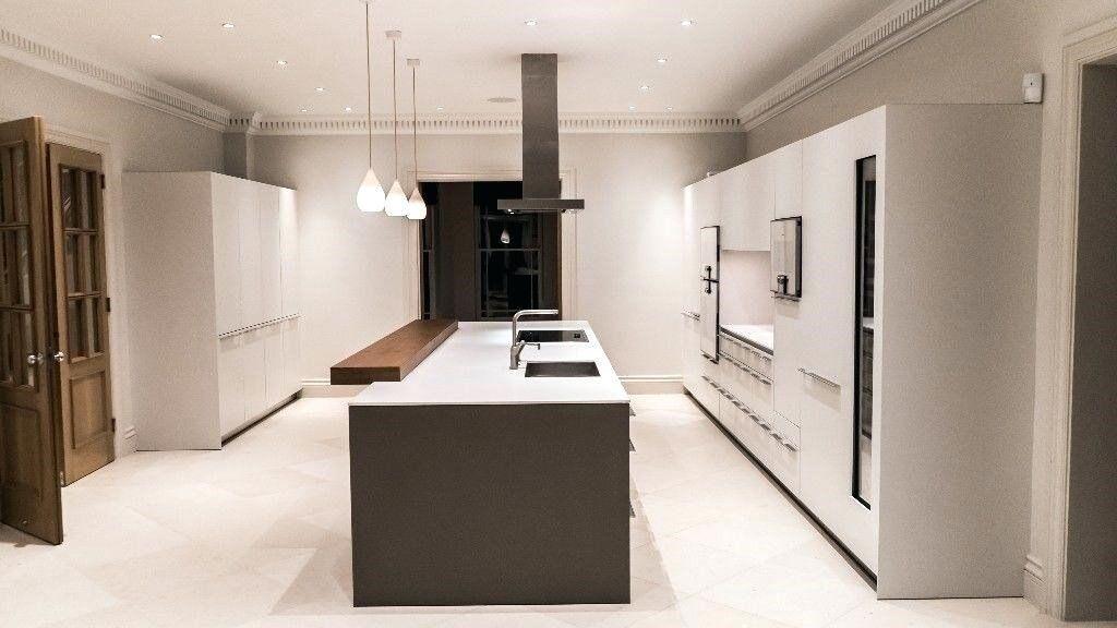 german bulthaup designer kitchen with gaggenau appliances 3 yrs old