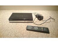 Manhattan Plaza HDT700 Freeview HD DIGITAL RECEIVER HDMI Set Top Box + remote control