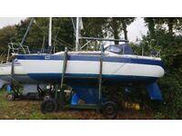 VERL 900 6 Berth 30' sailing cruiser £11500