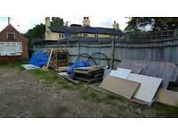 Builders yard storage space plus office