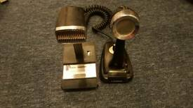 Cb microphones hand / base and boom with mic and lead