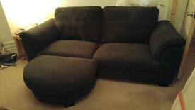 IKEA sofa in charcoal. 3 seater. £40