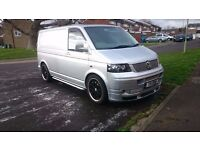 VW T5 Partially Converted