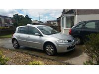 Renault Megane | 2008 | Silver | Diesel | Manual | 114,000 miles | £800 ono