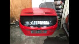 Ford Fiesta MK7 Complete Tailgate Race Red With Spoiler