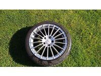 """Rota Vortex 17"""" Alloys Audi A3 A4 TT Seat Ibiza Leon VW Caddy Golf 5x112"""