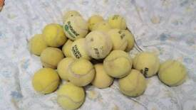 26 tennis balls