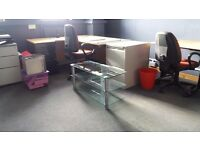 Large selection used office furniture private sale