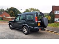 LAND ROVER DISCOVERY 4X4 DIESEL 2.5 YEAR MOT 7 SEATER.