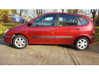 2000 RENAULT MEGANE SCENIC PETROL 5 DOOR MANUAL