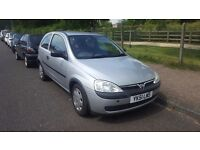 VAUXHALL CORSA 2002 1.0L LONG MOT STARTS AND DRIVES GREAT CHEAP TAX AND INSURANCE BARGAIN £495!!!!