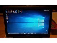 Refurbished upgraded Toshiba laptop Windows 10 250GB AMD 2.1 4GB DVD/RW wireless webcam Office 2010