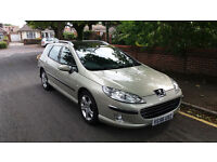 Peugeot 407 SE SW HDI AUTO ESTATE. Full service history, 1 owner, New - MOT, Cambelt kit and service