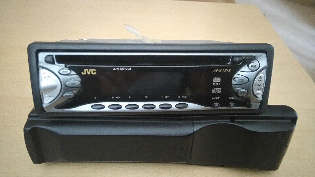 JVC KD-S721R RDS Headunit Full Working Order £25 OVNO