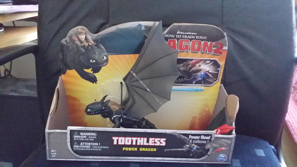 Toothless Power Dragon