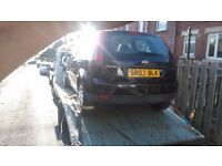 Ford fiesta 1.25 89k full mot full tank needs slight work