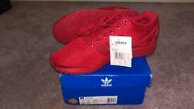 Adidas ZX Flux Red Torsion UK10/44 BNIB+Tags