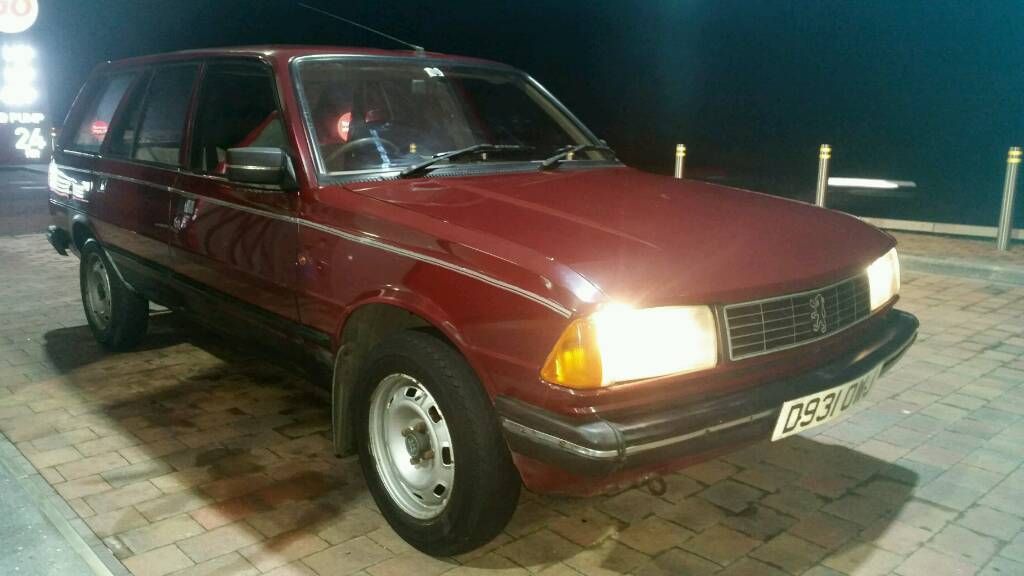 1986 peugeot 305 gld estate | in tandragee, county armagh | gumtree