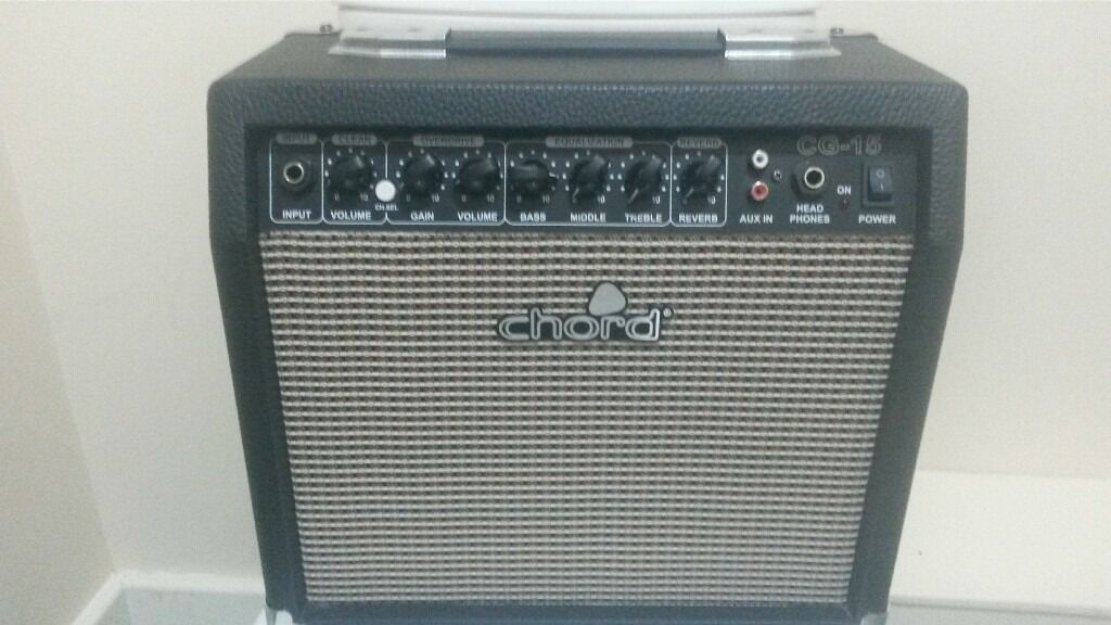 Guitar Amp Practice Amp Chord Cg 15 In Clifton Nottinghamshire