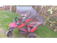 Hauck Free Rider Double Twin Pushchair