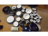 Kitchen plates etc