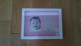 M&S white picture frame