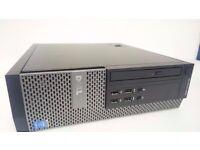Dell Optiplex 9020 SFF Desktop - Great for gaming - Intel i5, 500GB, 12GB RAM, Nvidia GT710 Graphics