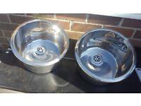 Round Inset Sink
