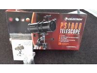 Celestron telescope unused £95