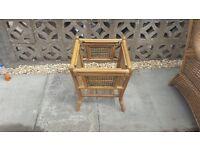 Beautiful wicker furniture set