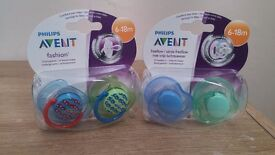 Philips Avent soothers 6-18