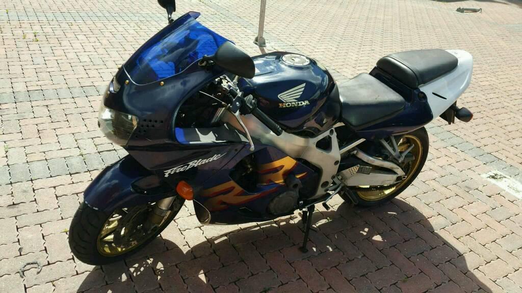 Honda CBR 900 RR bargain to go today