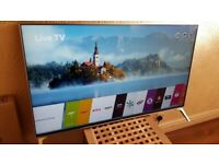 BRAND NEW BOXED LG 49 INCH 49SM8050 Smart nano 4k uhd hdr led tv with wifi, freeview and freesat hd