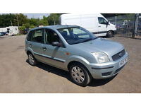 FORD FUSION (fiesta mpv) 1.4 LITRE. 2004 MOT MARCH. NO ADVISORY. 5 DOOR HATCHBACK. 111000 MILES.