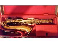 ***REDUCED***Vintage Karl Meyer (Selmer London stencil) Tenor Saxophone