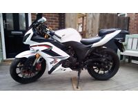 WK125RR 125cc Motorcycle - MOT Till 20th August - Full Size Motorbike!