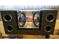 Brand new Audiopipe 1200w sub