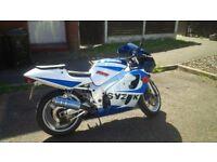 SUZUKI GSX R600X 21676 MILES (MIGHT SWAP PX}