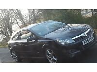 Astra coupe black lowered remapped