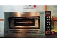 full new pizza Gas single oven