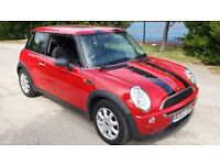 2003 Mini one automatic 1.6L petrol with 92000 miles and FULL service history.