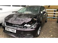 SEAT LEON 2018 TOP SPEC **DAMAGED SALVAGE** BARGIN!!