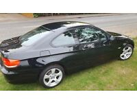 BMW 320i coupe, black, efficient dynamics, 6speed