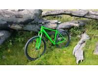 """Cube AIM SL 20"""" lime green colour mountain bike"""