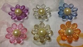 Closing sale! Joblot! Magnetic Curtain Tie back Brooch 103 pairs in 6 colours