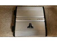 CAR SUBWOOFER AMPLIFIER JL AUDIO E1200 MONO 1 CH MONOBLOCK AMP CLASS D DESIGNED FOR SUB WOOFER